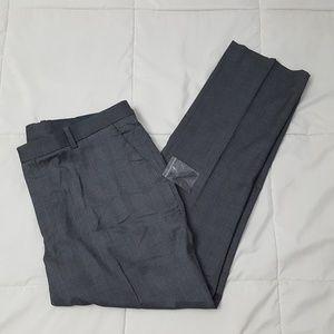 Perry Ellis Slim Fit Dress Pants Mens 38 x 30 Gray